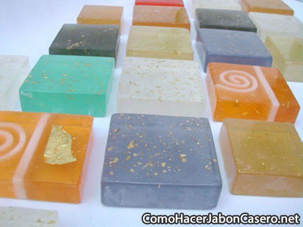 Cómo hacer jabón de glicerina casero