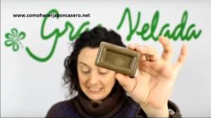 jabón casero de arcilla verde 2