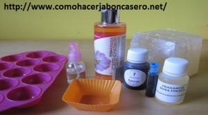 jabón casero de rosa de mosqueta
